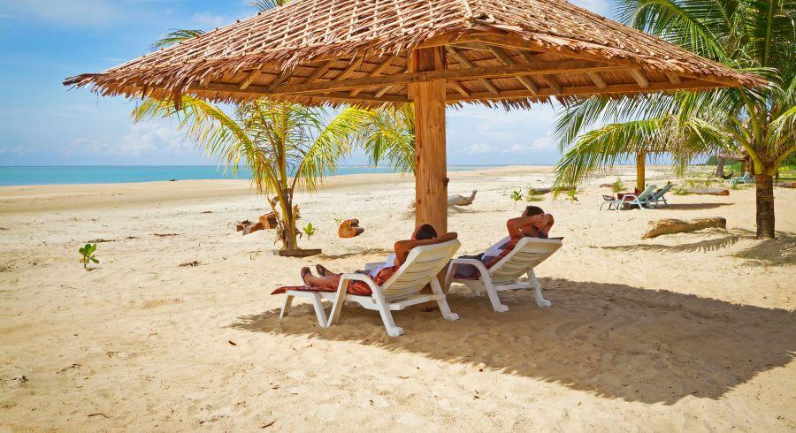 Perfektes Wetter auf Indiens Inseln und Stränden