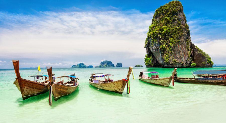 Perfekt für Erholung auf Individualreisen, Thailand bietet Strand und Sonne