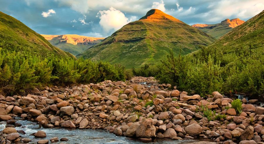 Fantastisches Bergpanorama in Lesotho