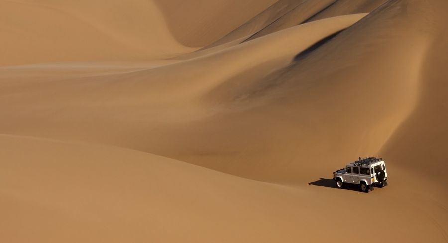 Enchanting Travels The Sand Dunes of the Namib Desert in Namibia
