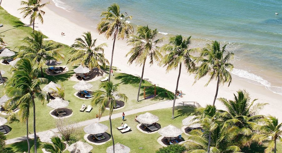Beste Reisezeit Südamerika - Praia do Forte, Brasilien