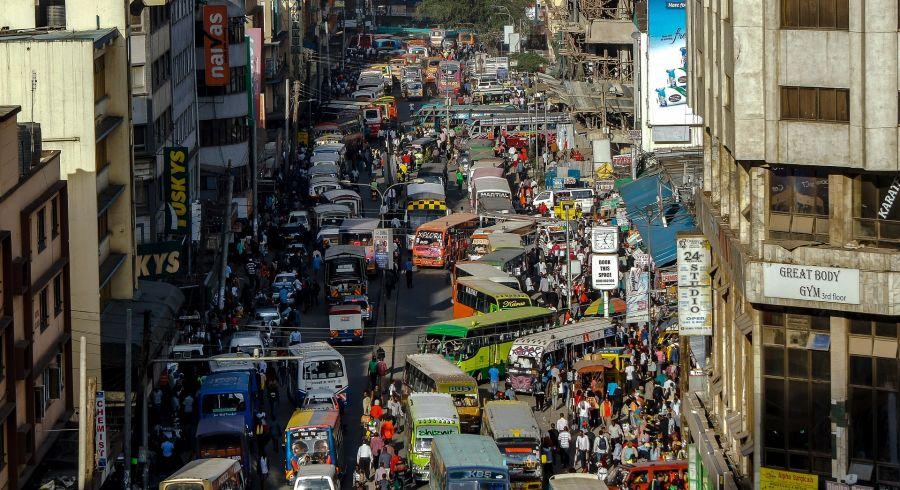 Innenstadt von Nairobi