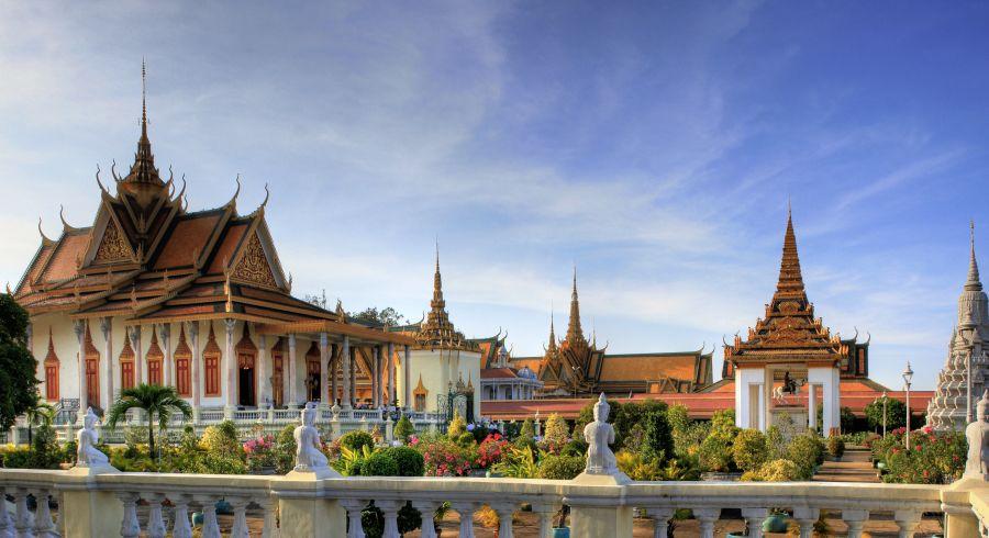 Der Königspalast von Phnom Penh