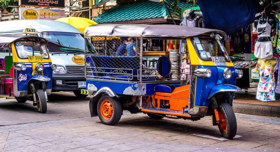 Security in Thailand: Tuk Tuks