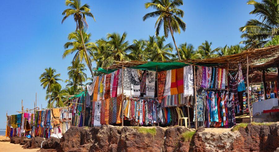 Enchanting Travels India Tours Goa Anjuna Market