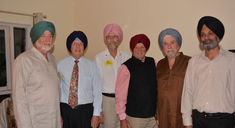 Member of the Rotary Club of Wagga Wagga in India