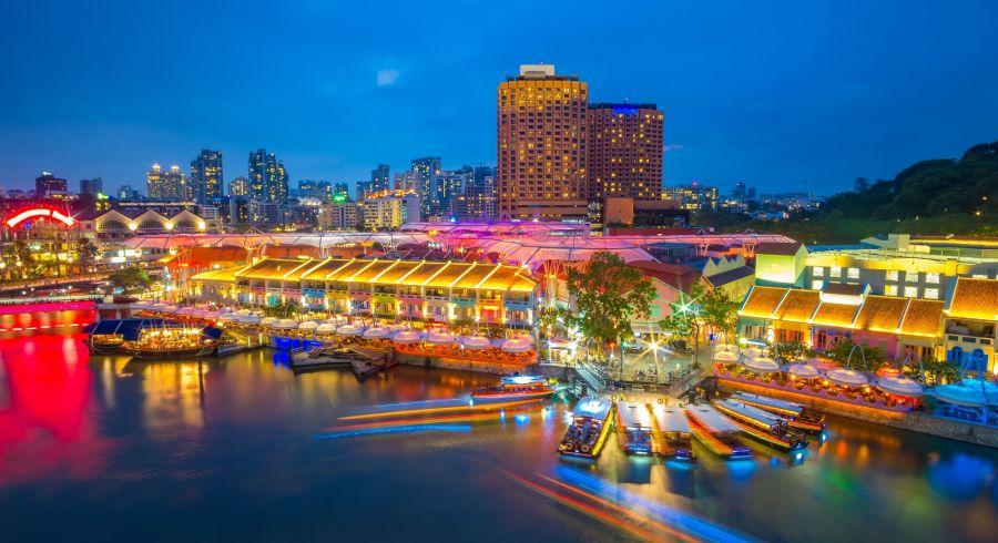 Enchanting Travels Asia Tours Singapore Tourism Marina bay Clarke Quay