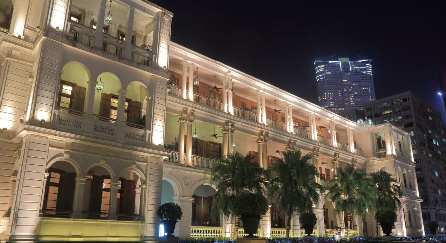The former Marine Police Headquarters of Hong Kong which has been transformed as 1881 Heritage