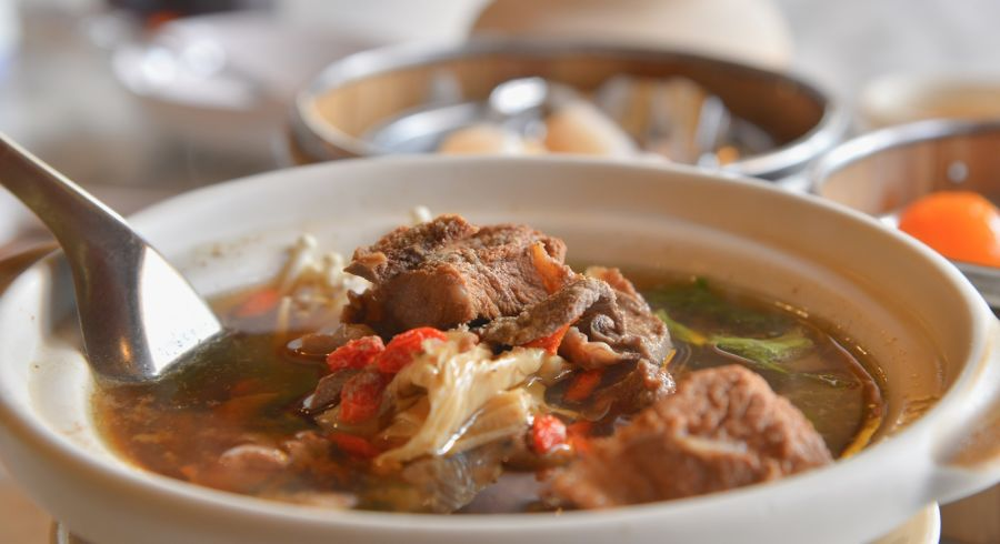 Buk Kut Tae, a traditional meat dish popular with Singaporeans