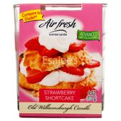 Air Fresh Scented Candle Strawberry Shortcake