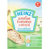 Heinz Sunrise Banana Baby Cereal 4 Months Plus