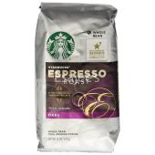 Starbucks Espresso Whole Bean Dark Roast 100% Arabica Coffee