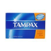 Tampax Tampons Cardboard with Flushable Applicator Super Plus Absorbency