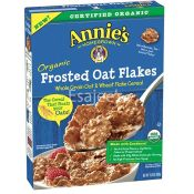 Annies Organic  Frosted Oats Flakes Cereal