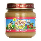 Earths Best Organic My First Fruits Stage 1 Apples Baby Food