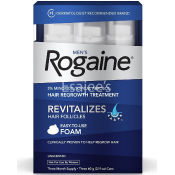 Rogaine Men's Hair Regrowth Treatment Foam