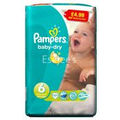 Pampers Extra Large No 6