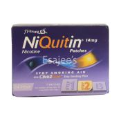 NiQuitin CQ Patches Stop Smoking Aid Patches 14mg Original Step2 - 7 Patches