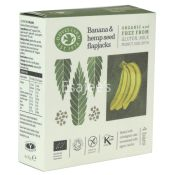 Doves Farm Organic Banana Oat Bars with Hemp
