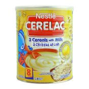 Nestle 3 Cereals With Milk Baby Cereal