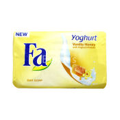 Fa Yoghurt Vanilla Honey with Yoghurt Protein Bar Soap