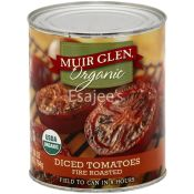 Muir Glen Tomatoes Organic Diced Fire Roasted