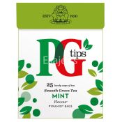 PG Tips Green Tea Mint Pyramid Teabags