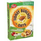 Post Honey Bunches of Oats Breakfast Cereal w/ Real Apples & Cinnamon