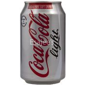 Coca Cola Soft Drink Light Can