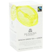 Jacksons  Sencha Green Tea With Lemon