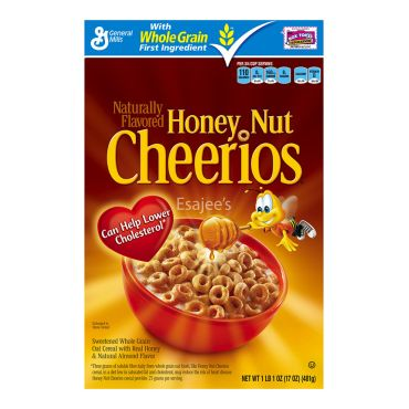 General Mills Cereals Honey Nut Cheerios