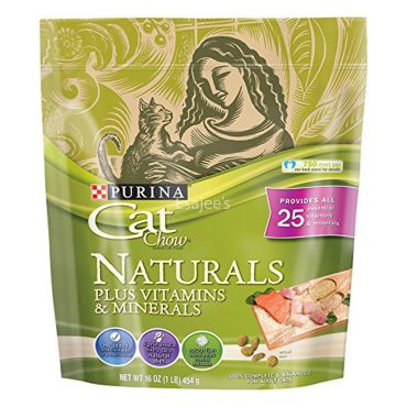 Purina Cat Chow Naturals Cat Food With Vitamins And Minerals