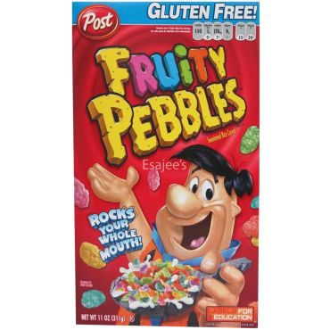 Post  Gluten Free Fruity Pebbles Cereal