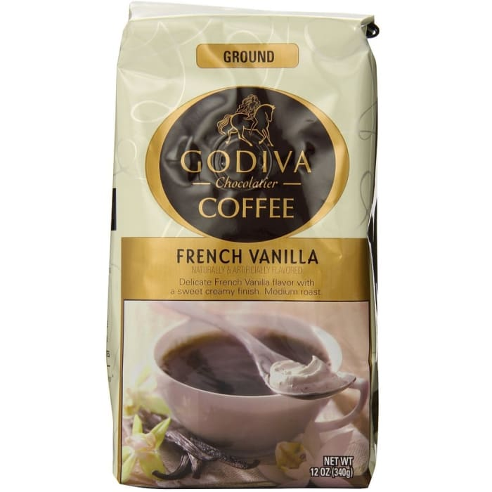 Godiva Coffee Ground French Vanilla Bag