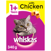 Whiskas Cat Food with Chicken 340 Grams
