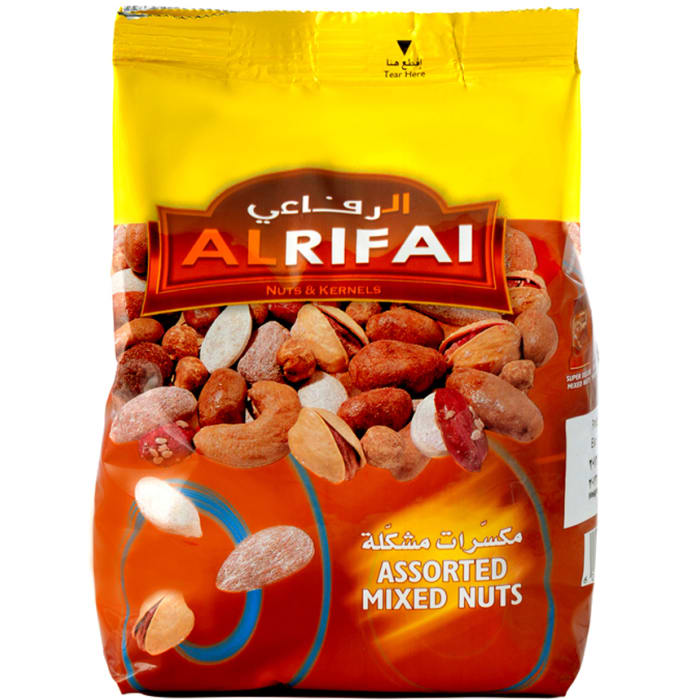 Al Rifai Assorted Mixed Nuts Pouch 500g