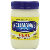 Hellmanns Real Mayonnaise Bottle