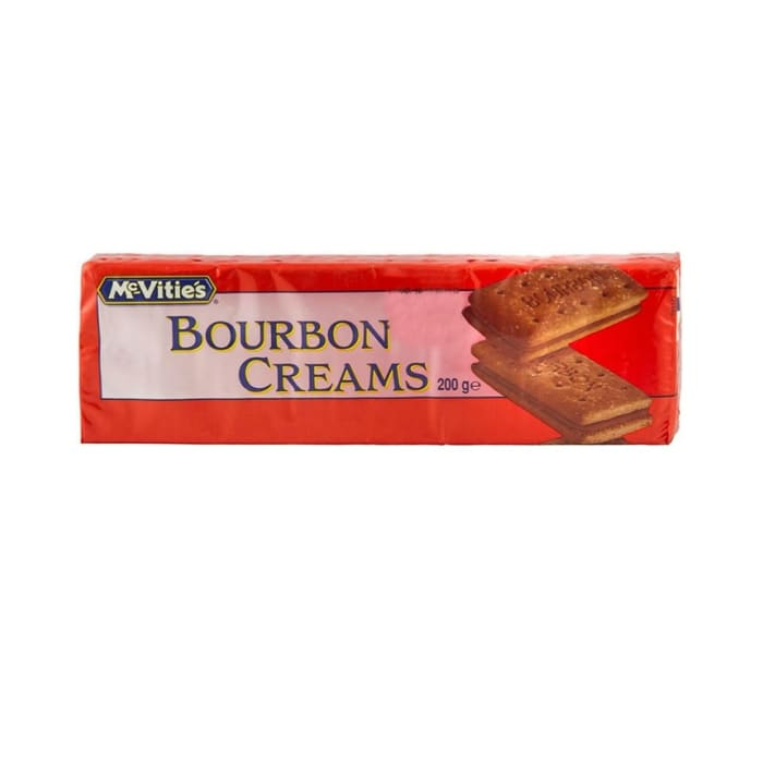 McVities Bourbon Creams Biscuits