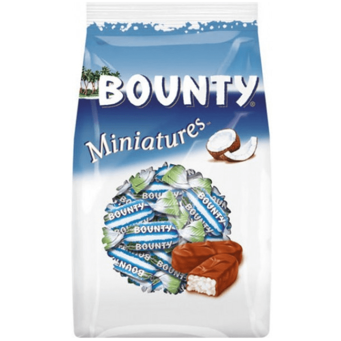Bounty Miniatures Chocolate Bag