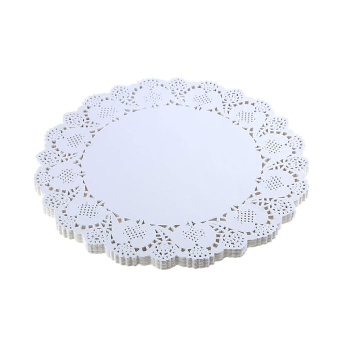 Hotpack Round Doilies Paper 8.5 Inch