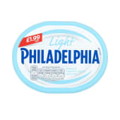 Philadelphia Light Fresh & Creamy Taste Less Fat 180 Grams