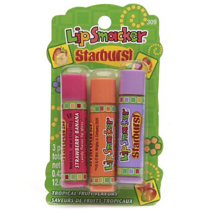 Lip Smacker  Starburst Tropical Lips Care