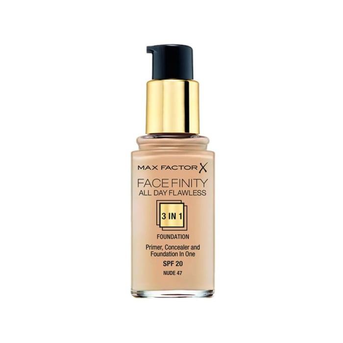 Max Factor Facefinity 3-IN-1 Foundation Nude 47