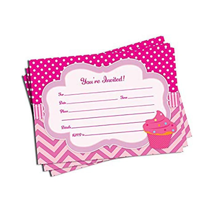 Baby Shower Birthday Invitation Envelopes Included Enveloppes Incluses