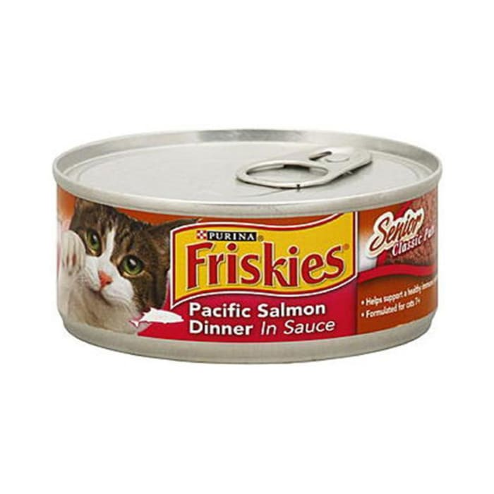 Friskies Cat Food Pacific Salmon Dinner In Sauce