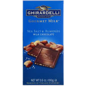 Ghirardelli  Gourmet Milk Sea Salt & Almonds Milk Chocolate