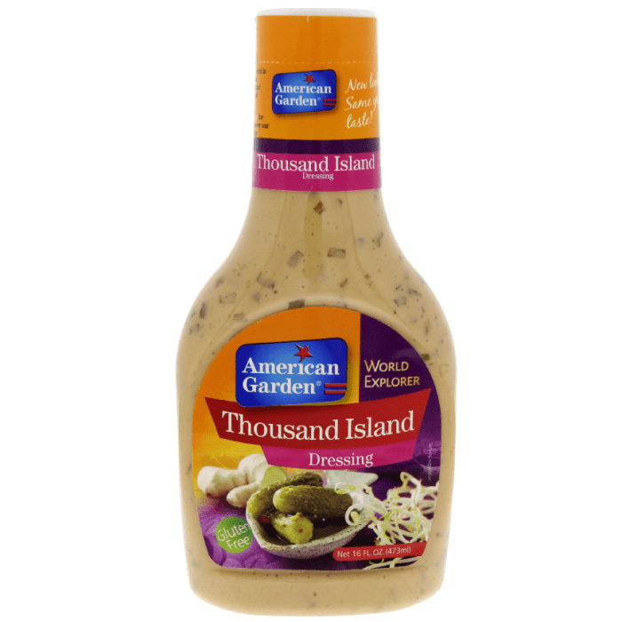 American Garden Thousand Island Salad Dressing