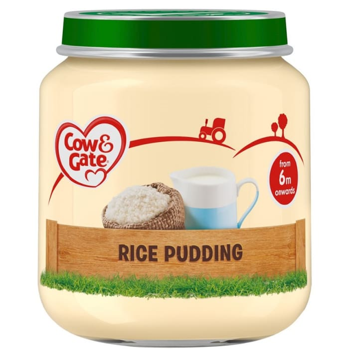 Cow & Gate Rice Pudding