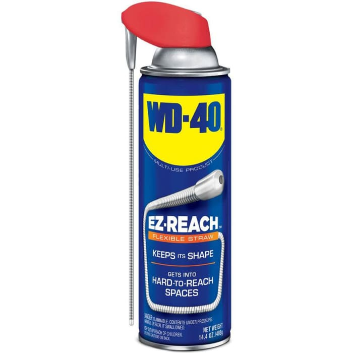 WD-40 Aerosol Can with Smart Straw
