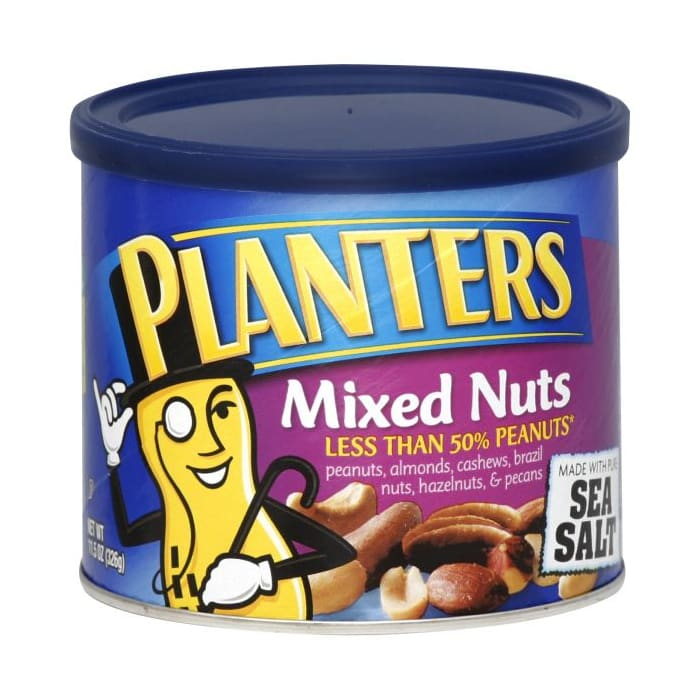 Planters  Mixed Nuts Sea Salt
